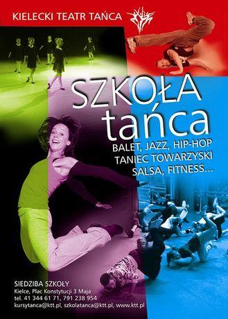 Kielecki Teatr Tańca Taniec Zapisy do Szkoły Tańca KTT