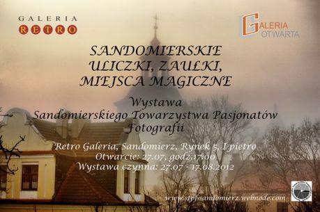 Sandomierz Fotografia Sandomierskie uliczki, zaułki i miejsca magiczne