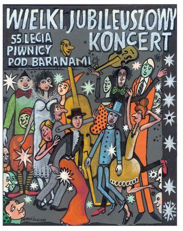 Filharmonia Świętokrzyska Muzyka 55 lecie Piwnicy Pod Baranami