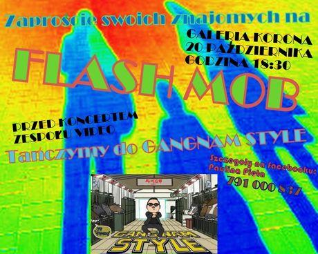 zobacz info Taniec Flashmob Gangnam Style