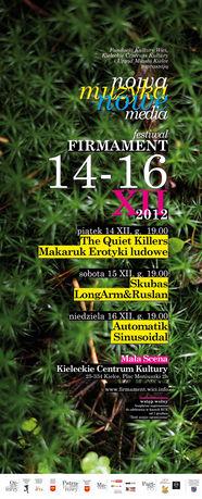 Kieleckie Centrum Kultury Muzyka 11. Festiwal Firmament 2012