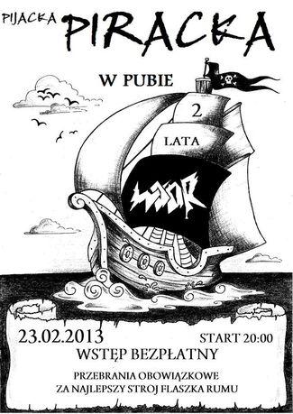 Woor Muzyka Piraci w Pubie