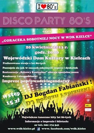 Wojewódzki Dom Kultury Muzyka Gorączkę sobotniej nocy w WDK