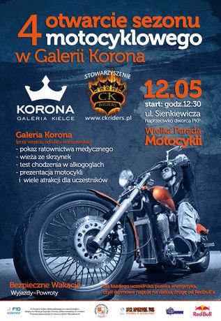 Galeria Korona Turystyka i Podróże 4 Otwarcie Sezonu Motocyklowego 2013 w Kielcach