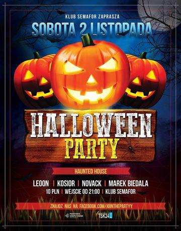 Semafor Muzyka Haunted House Halloween Party
