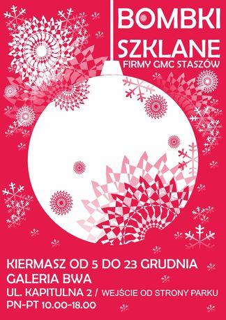 Galeria BWA Kielce Sztuki plastyczne Kiermasz bombek Lucyny Gozdek w BWA