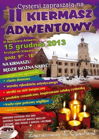 Klasztor Cystersów, Wąchock  Targi Kiermasz Adwentowy