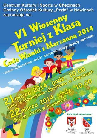 Centrum Kultury i Sportu w Chęcinach Kultura VI Wiosenny Turniej z Klasą Chęciny 2014