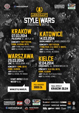 Klub Krockodyl Muzyka Arrogant Style Wars Battle