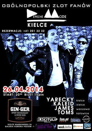 Gin-Ger Muzyka Ogolnopolski Zlot Fanów Depeche Mode
