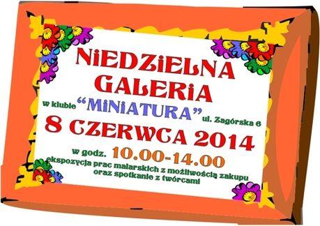 OKK Miniatura Sztuki plastyczne Galeria Niedzielna