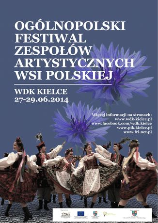 Wojewódzki Dom Kultury Kultura Ogólnopolski Festiwal Zespołów Artystycznych Wsi Polskiej 2014