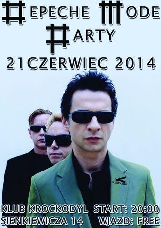 Klub Krockodyl Muzyka Depeche Mode Party @ Krokodyl