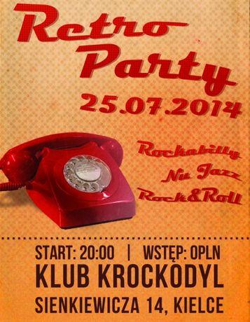 Klub Krockodyl Muzyka RETRO PARTY @ KROCKODYL