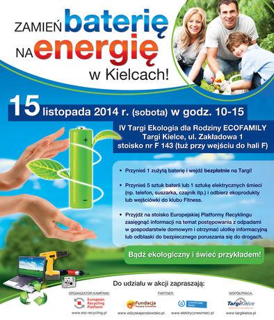 Targi Kielce Targi Zamień baterię na Energię!
