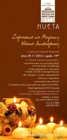 zobacz info Taniec Magiczny Wieczór Andrzejkowy