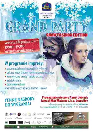 Grand Hotel Moda Grand Party - snow fashion