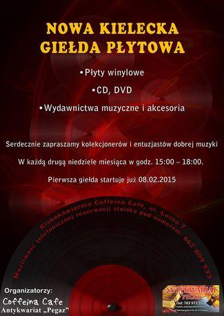 Coffeina Cafe Muzyka Nowa kielecka giełda płytowa - II edycja
