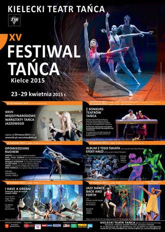 Kielecki Teatr Tańca Taniec 15 Festiwal Tańca