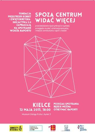 Muzeum Dialogu Kultur Kultura Spoza centrum widać więcej - spotkanie dyskusyjne