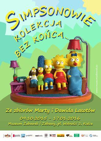 Muzeum Zabawek i Zabawy Kultura ,,Simpsonowie. Kolekcja bez końca…
