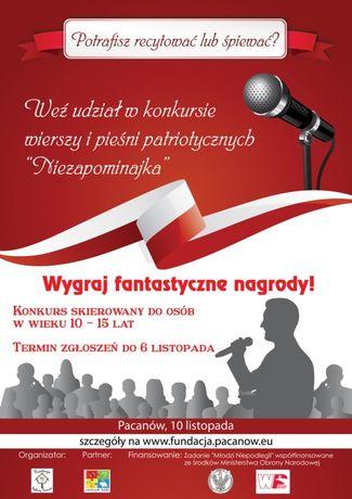 Europejskie Centrum Bajki Muzyka Konkurs Pieśni i Poezji Patriotycznej