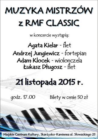 Miejskie Centrum Kultury, Skarżysko-Kamienna Muzyka Muzyka Mistrzów z RMF Clasic