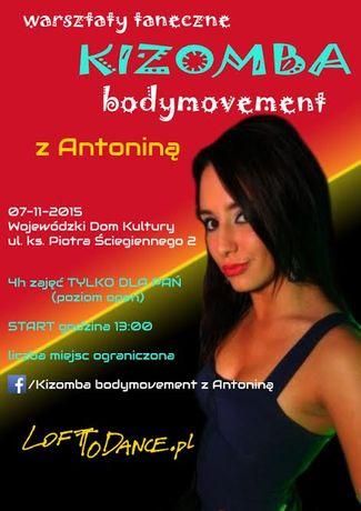 Wojewódzki Dom Kultury Taniec Kizomba bodymovement z Antoniną
