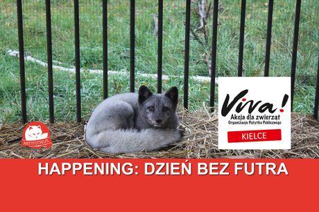 Plac Artystów, Kielce Cywilizacja Happening: Dzień bez futra