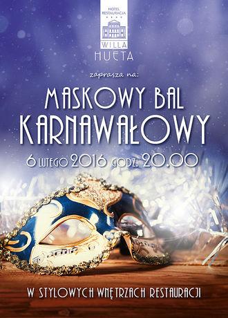zobacz info Kielce Maskowy Bal Karnawałowy