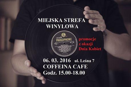 Coffeina Cafe Muzyka Miejska strefa winylowa