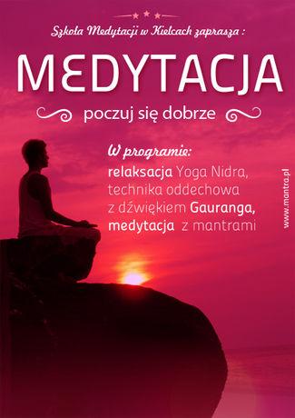 Kultura Medytacja - poczuj się dobrze