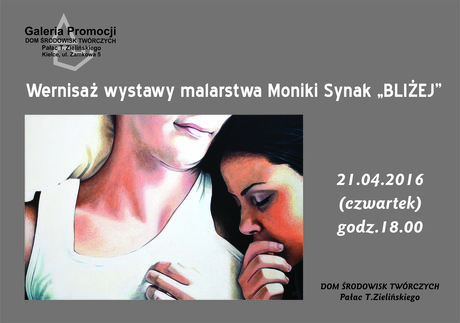 DŚT - Pałac T. Zielińskiego Sztuki plastyczne Wystawa malarstwa Moniki Synak