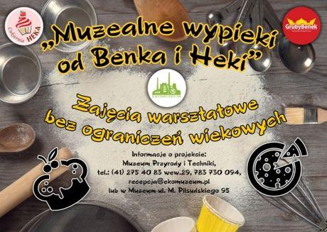 Muzeum Przyrody i Techniki Kuchnia Muzealne wypieki od Benka i Heki