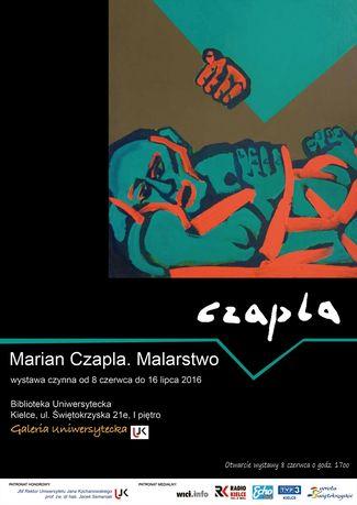 Biblioteka Uniwersytecka UJK Sztuki plastyczne Marian Czapla Malarstwo