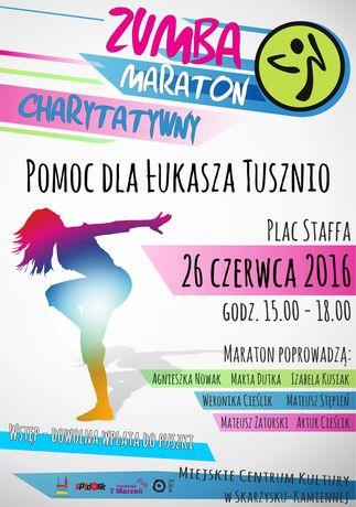 Miejskie Centrum Kultury, Skarżysko-Kamienna Sport i Rekreacja Charytatywny Maraton ZUMBA