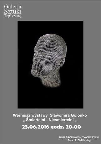 DŚT - Pałac T. Zielińskiego Sztuki plastyczne Sławomir Golonko