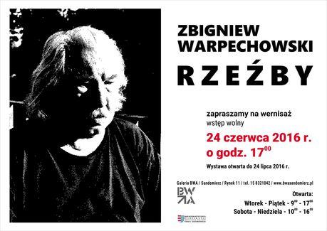 Galeria BWA, Sandomierz Sztuki plastyczne Zbigniew Warpechowski - Rzeźby