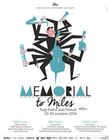Kieleckie Centrum Kultury Muzyka Memorial To Miles Jazz Festival 2016