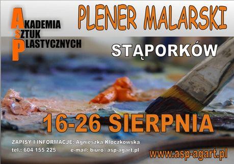 zobacz info Sztuki plastyczne Plener malarski