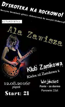 Zamkowa Muzyka Dyskoteka na rockowo w Zamkowej!