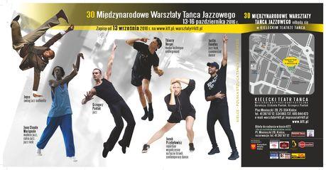 Kielecki Teatr Tańca Taniec 30 Międzynarodowe Warsztaty Tańca Jazzowego