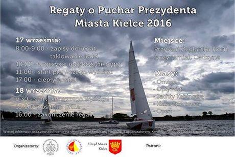 Zalew, Cedzyna Sport i Rekreacja Regaty o Puchar Prezydenta Miasta Kielce