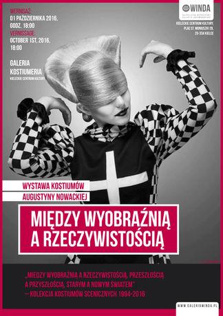 Kieleckie Centrum Kultury Moda Wernisaż wystawy kostiumów Augustyny Nowackiej