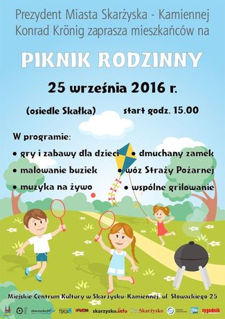 zobacz info Świętokrzyskie Skarżyski piknik rodzinny