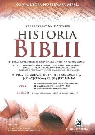 Biblioteka Uniwersytecka UJK Kultura Historia Biblii