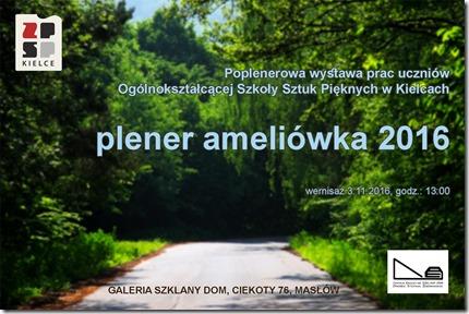 Centrum Edukacyjne - Szklany Dom Sztuki plastyczne Plener Ameliówka