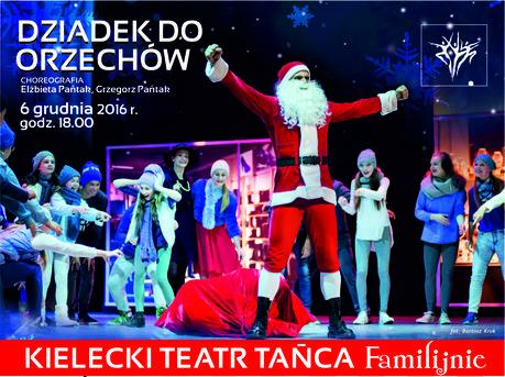 Kielecki Teatr Tańca Taniec Dziadek do orzechów