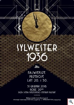 Kieleckie Centrum Kultury Muzyka Sylwester 1936 - koncert