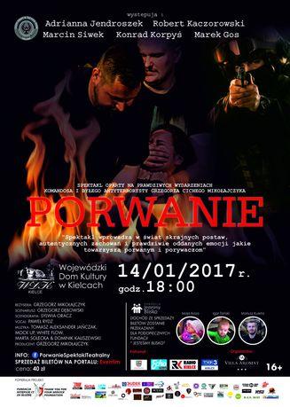 Wojewódzki Dom Kultury Teatr ''Porwanie'' - spektakl